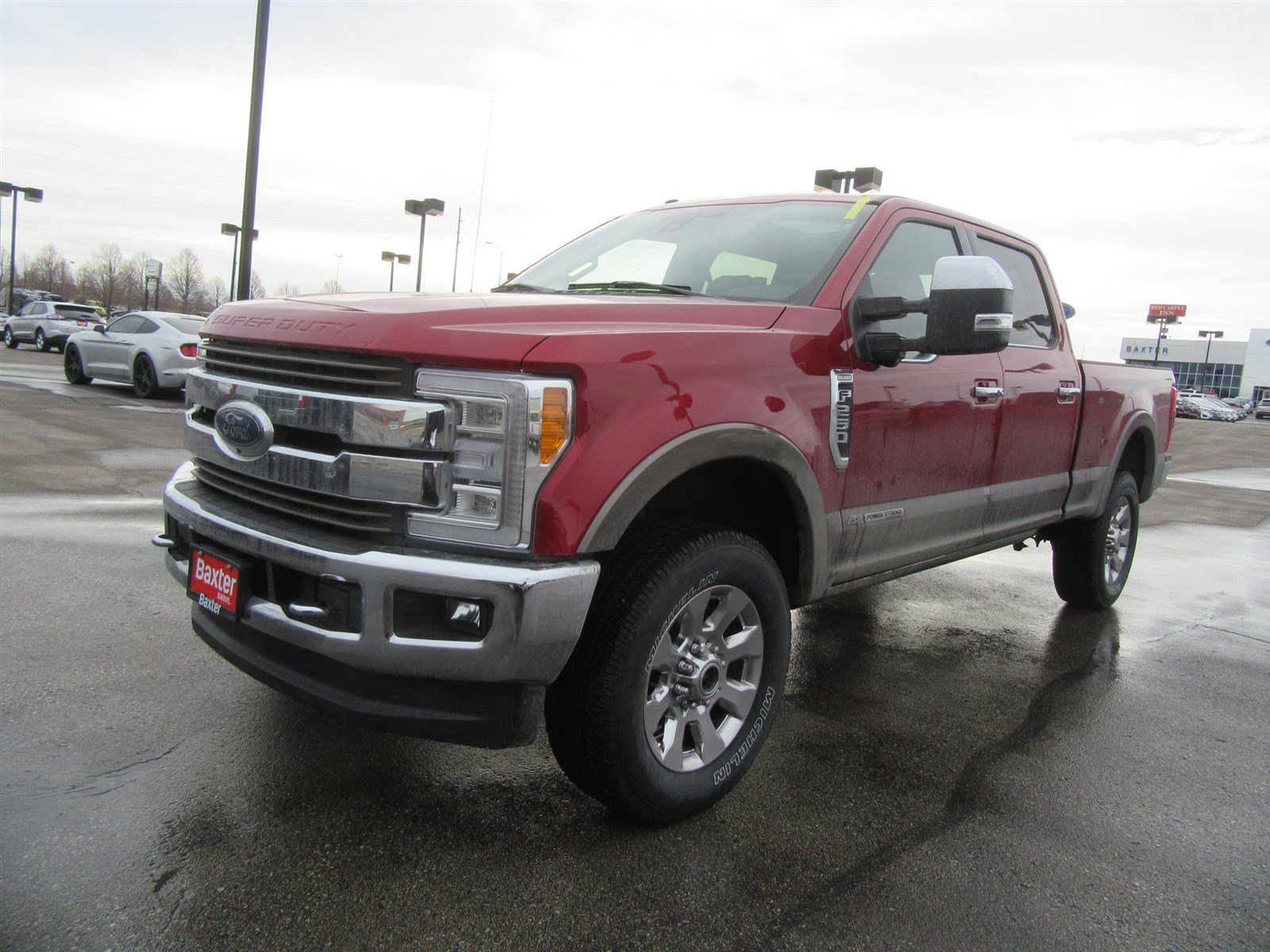 New 2018 Ford Super Duty F 250 SRW King Ranch Baxter Ford