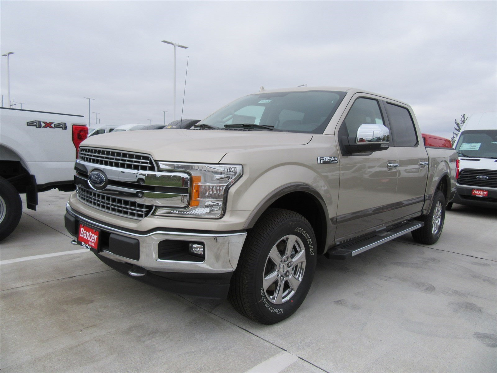 New 2018 Ford F 150 Lariat Baxter Ford