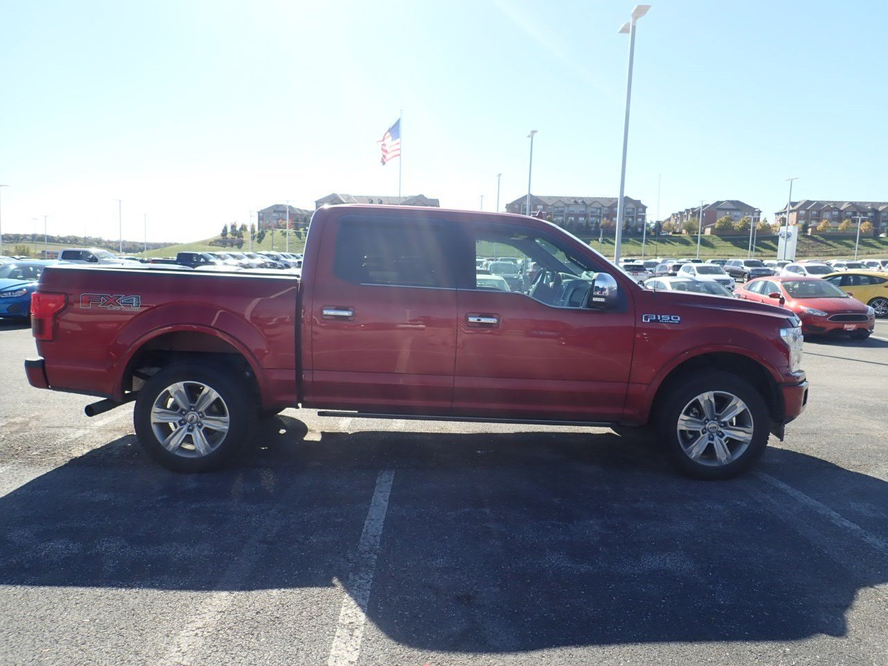 Certified pre owned 2018 ford f 150 platinum